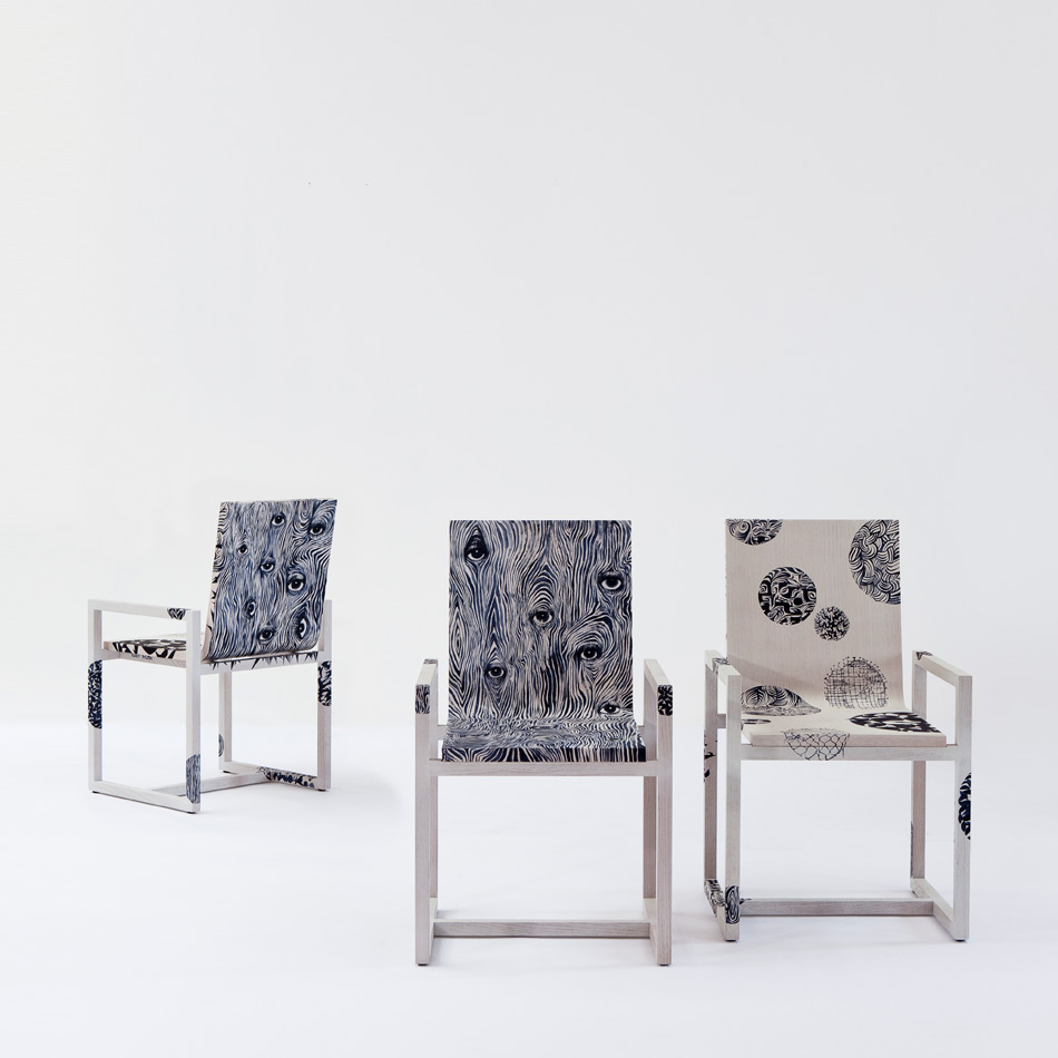 Ruben Toledo - Dining Arm Chair